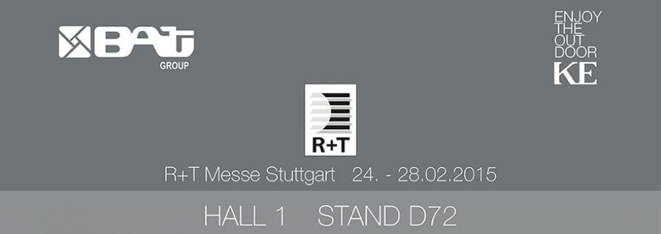 R+T Fiera Stoccarda 24. – 28.02.2015 – HALL 1 STAND D72